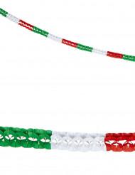 2 Guirlandes papier supporter Italie 3 m
