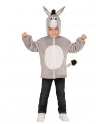 Veste à capuche âne enfant
