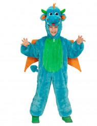Déguisement dragon bleu enfant