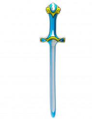 Epée gonflable bleue 77 cm