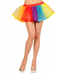 Jupon multicolore femme 25 cm