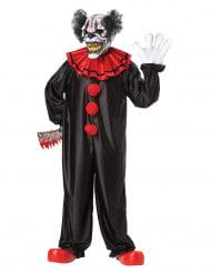 Déguisement Clown Effrayant avec masque adulte