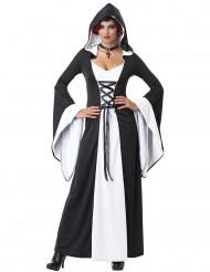 Déguisement Robe à Capuche médiévale pour femme