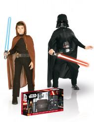 Coffret déguisements Jedi et Dark Vador™ enfant