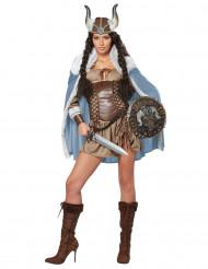 Déguisement robe viking femme