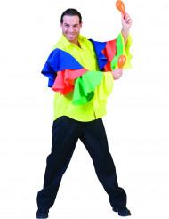 Chemise danseur rumba homme