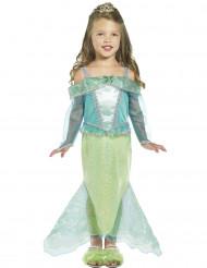 Déguisement princesse sirène fille
