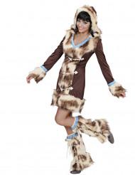 Déguisement esquimau des neiges luxe femme