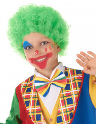 Perruque clown enfant verte