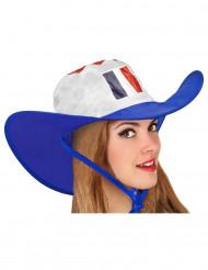Chapeau cowboy supporter France