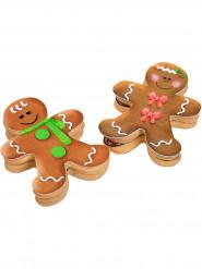 9 Décorations en sucre pour biscuits Noël