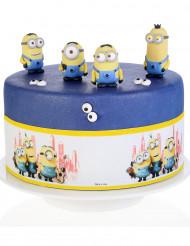 3 Bandes en sucre décoration gâteau Minion™