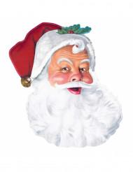 Décoration murale Père Noël en carton