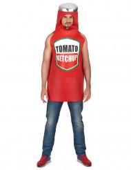 Déguisement ketchup Adulte