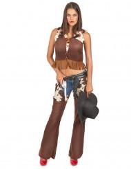 Déguisement cowgirl pantalon Femme