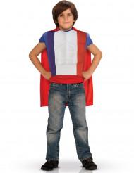 Haut héros avec cape enfant - France