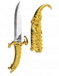 Dague prince arabe 33 cm en plastique