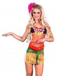 Déguisement robe Hawaï femme