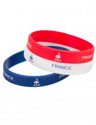 Bracelets tricolore silicone France FFF™
