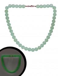 Collier perles phosphorescentes