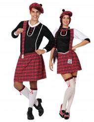 Déguisement de couple écossais