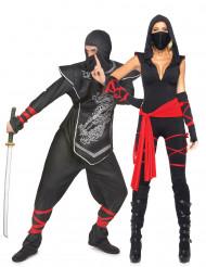 Déguisement de couple ninja