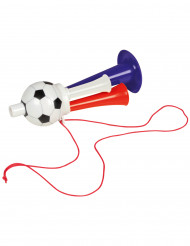 Trompette ballon de football supporter France
