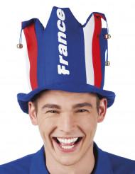 Chapeau avec grelot supporter France adulte