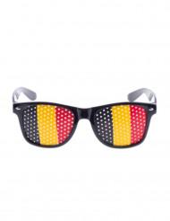 Lunettes supporter drapeau Belgique
