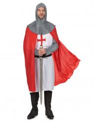 Déguisement chevalier croisé médiéval homme