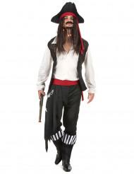 Déguisement pirate rayé homme