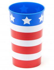Verre en plastique rigide réutilisable USA 650 ml