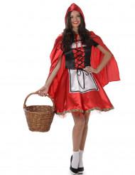 Déguisement chaperon rouge classique femme