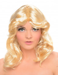 Perruque glamour années 70 femme