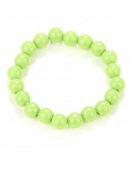 Bracelet perles vertes adulte