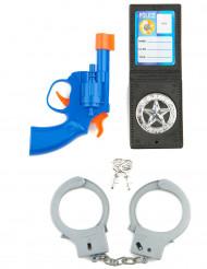 Kit Policier enfant en plastique