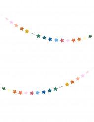 Mini guirlande petites étoiles multicolores 3 m