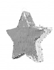 Pinata étoile argentée