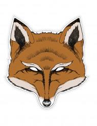 Masque papier renard