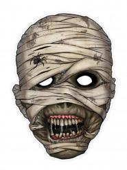 Masque papier momie
