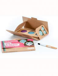 Kit maquillage 3 couleurs fée & sirène BIO Namaki Cosmetics ©