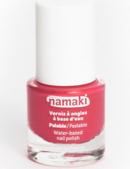 Vernis à ongles base eau pelable corail 7,5 ml Namaki Cosmetics ©