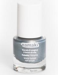 Vernis à ongles base eau pelable argent 7,5 ml Namaki Cosmetics ©