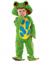 Déguisement grenouille verte bébé