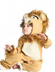 Déguisement combinaison lion bébé