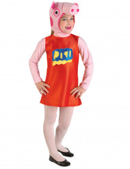 Déguisement cochon rose fille