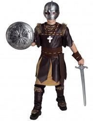 Déguisement gladiateur marron garçon