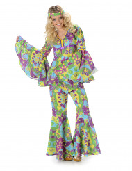 Déguisement hippie fleurs femme