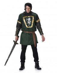 Déguisement chevalier vert homme