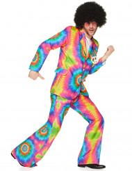 Déguisement hippie psychédélique homme